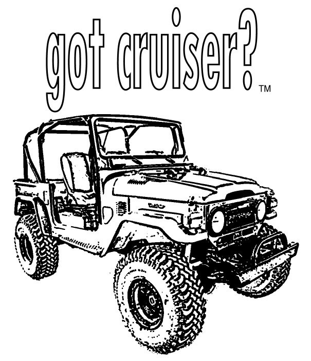 got cruiser  coloring book